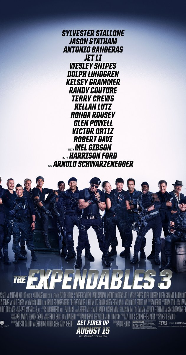 The Expendables 3 watch online