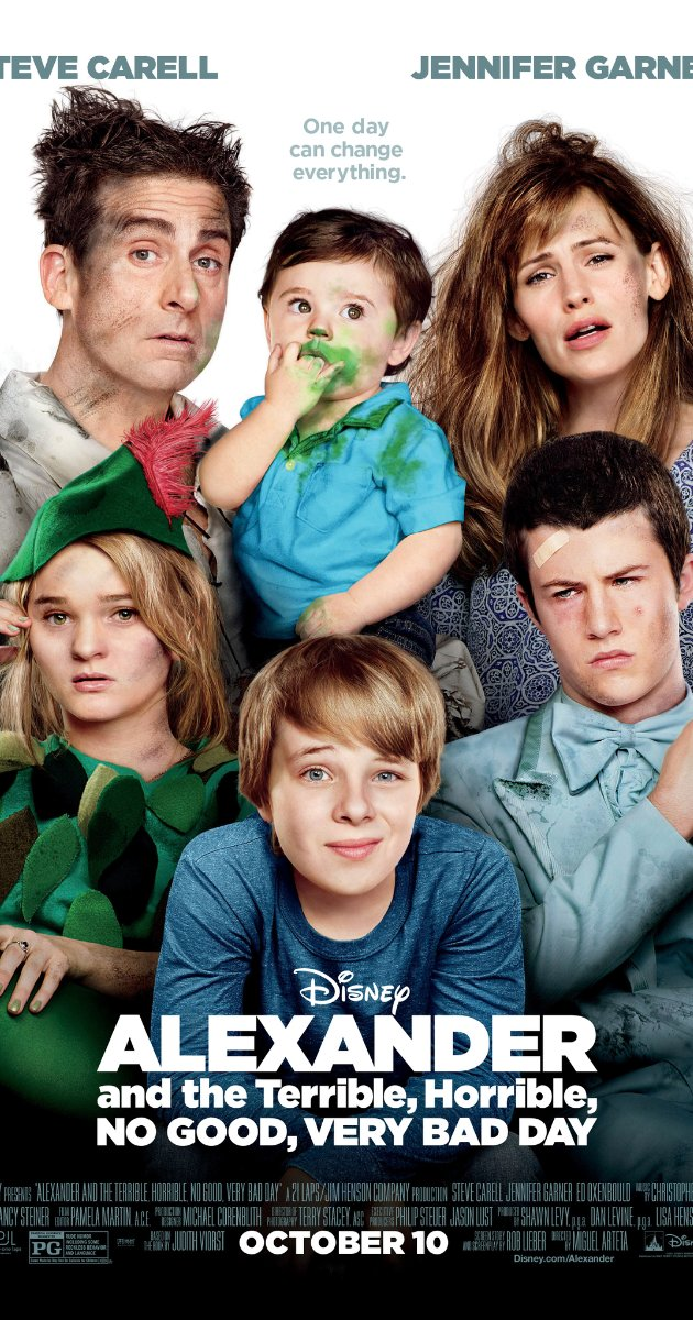 Alexander and the Terrible, Horrible, No Good, Very Bad Day watch online