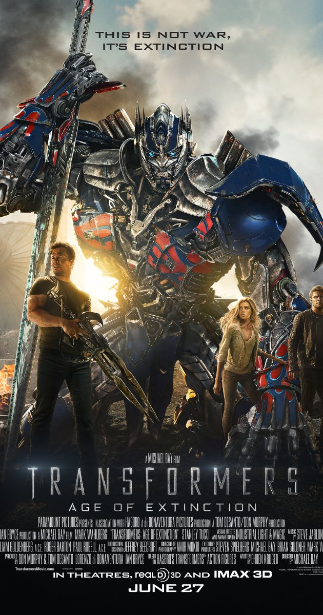 Transformers: Age of Extinction watch online