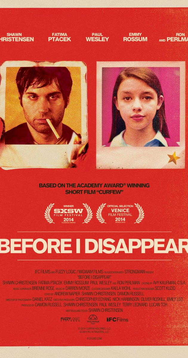 Before I Disappear watch online